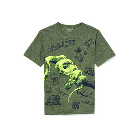 The Children's Place Boy's 'Wildlife' Graphic - Disney Children's Clothing