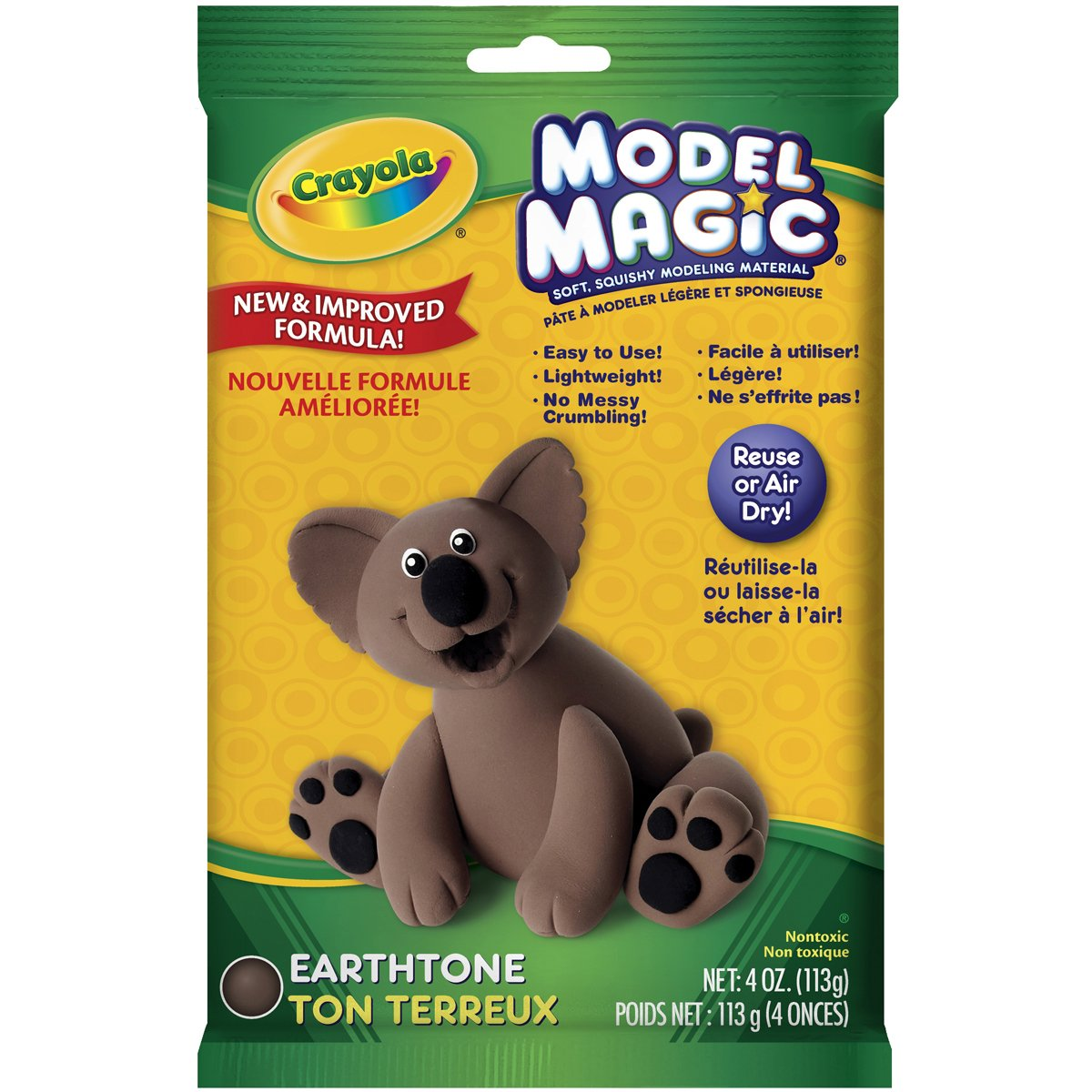 Model Magic Modeling Material - 1 Each - Earth Tone (cyo-574459)
