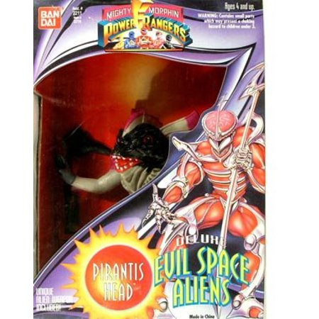Mighty Morphin Power Rangers Evil Space Aliens > Pirantis Head Action Figure - image 1 of 1