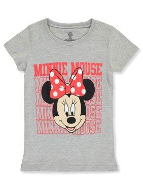 Disney Minnie Mouse Girls' Scholastic Smile T-Shirt