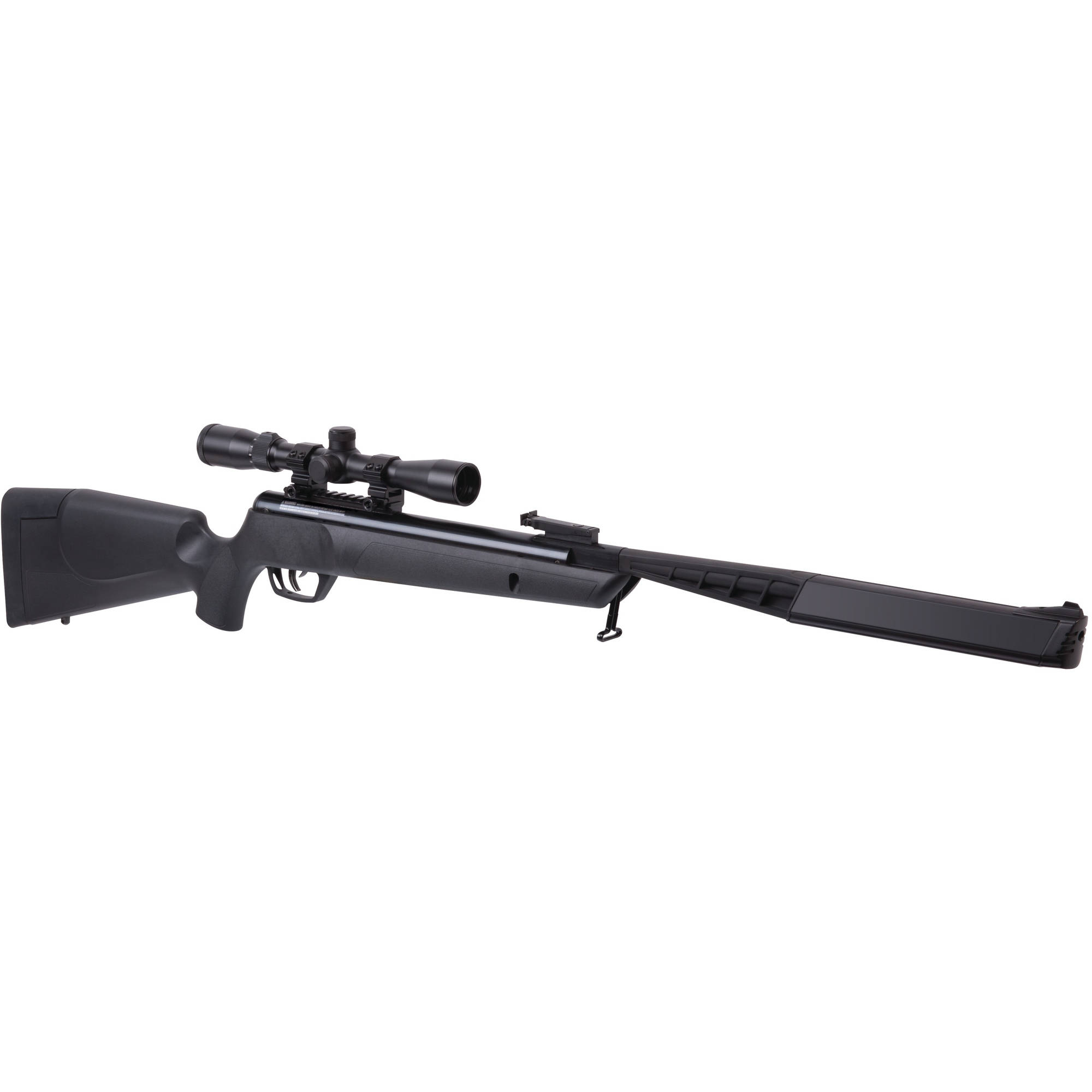 Benjamin Rouge SBD Stealth All-Weather .22 Caliber NP2 Break Barrel Air Rifle with Scope, 1100fps by Crosman Corporation