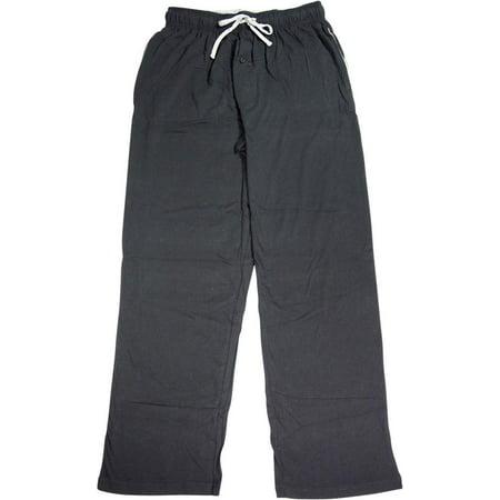 Hanes Mens 100% Cotton Lounge Pajama Sleep Pant - Prints & Solids - S - XL, 40099 Black / X-Large