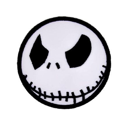 Angry Jack Skellington Iron On Patch Halloween Applique](Jack Skellington Halloween Town Song)