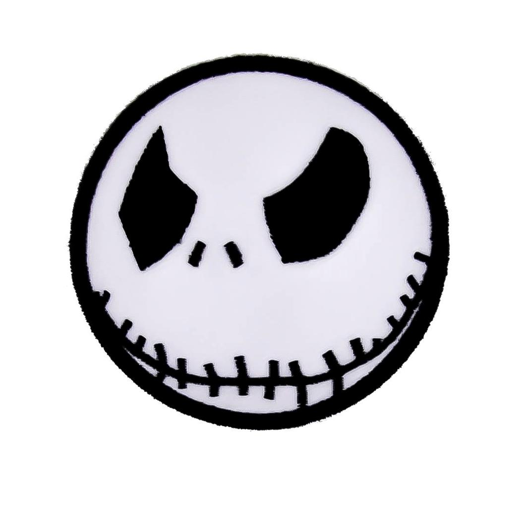 Angry Jack Skellington Iron On Patch Halloween Applique