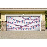 The Holiday Aisle Patriotic Garage Door Mural