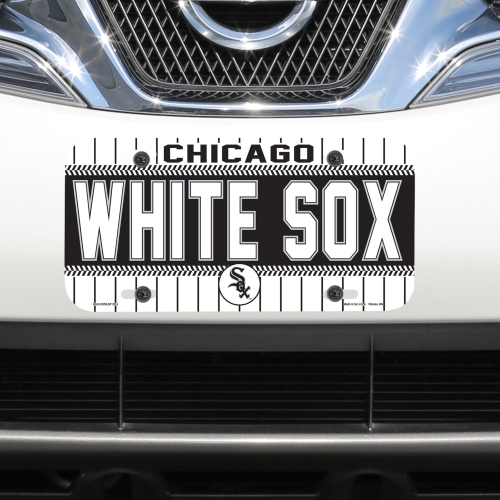 Chicago White Sox WinCraft Logo Plastic License Plate - No Size