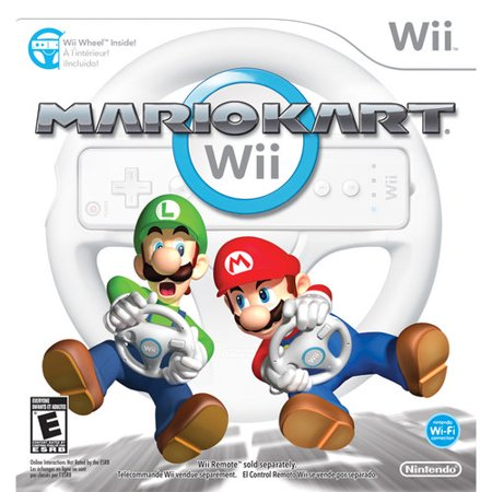 Mario Kart Wii with Wii Wheel](Mario For Hire)