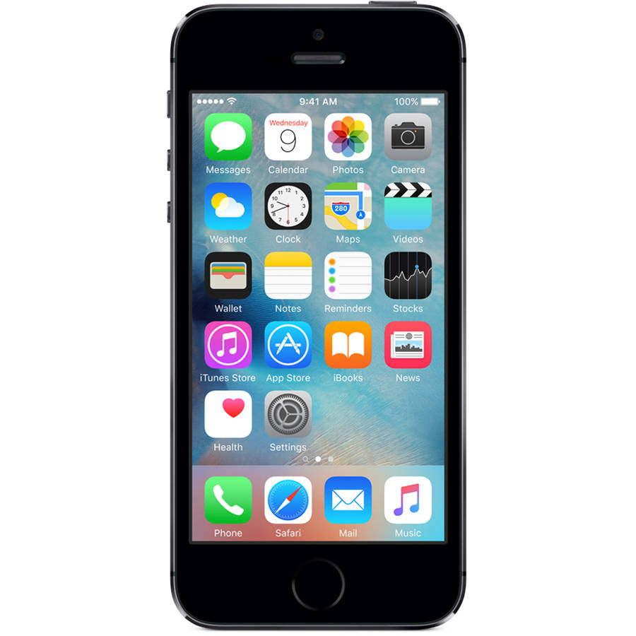 AT&T Apple iPhone 5S GoPhone Prepaid Smartphone includes $45 of Airtime
