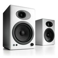 Audioengine A5+ White (Pr.) Powered Bookshelf Speakers