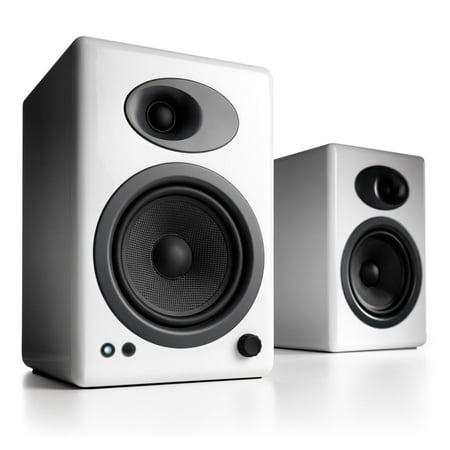 Audioengine A5+ White (Pr.) Powered Bookshelf