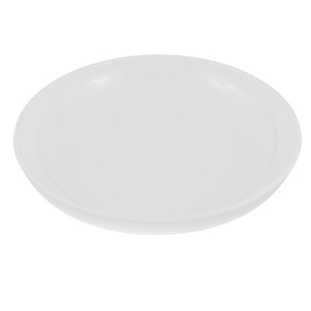 Unique Bargains Dinnerware Round Shape Dinner Dish Serving Plate White 8