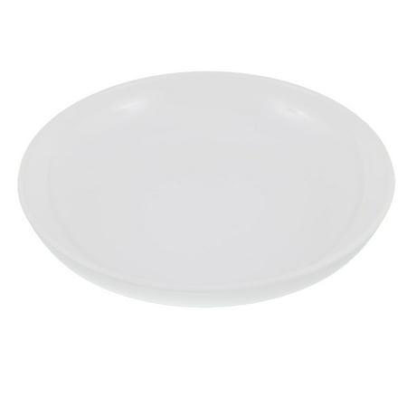 Heirloom Round Serving Plate - Unique Bargains Dinnerware Round Shape Dinner Dish Serving Plate White 8