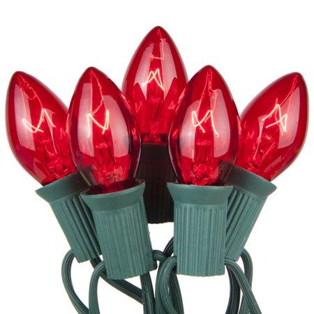 Kringle Traditions C7 Transparent Lights