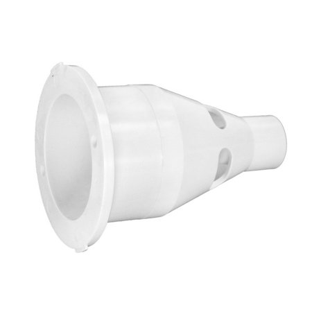 Balboa HA565288WHT Jet Wall Fitting with Adapter Hide A-line Adapter Fitting