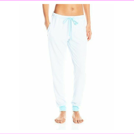 Nautica Womens Knit Long Pant in Robbins Egg, XXL (NWT $46)