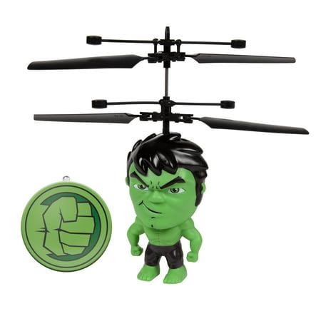 Marvel 3.5 Inch Hulk Flying Figure IR Helicopter ()