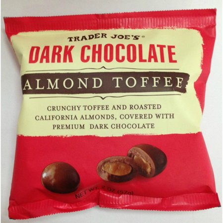 Trader Joes Chocolate Almond Toffee