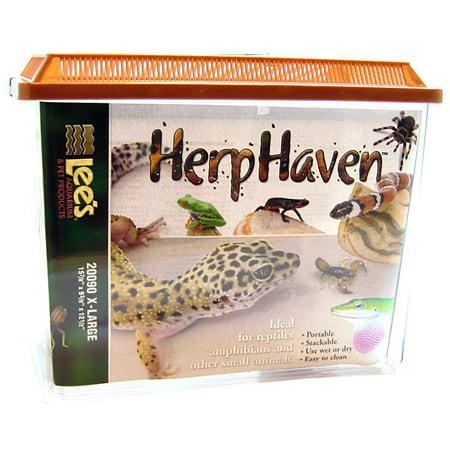 Lees HerpHaven Terrarium - Rectangular X-Large - 15.75L x 9.47W x 12.5H - Pack of 10