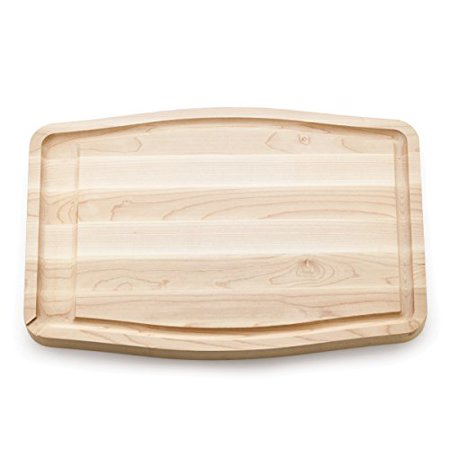 Savora 12 Inch By 18 Inch Maple Cutting Board with Trench - Maple Sushi Board