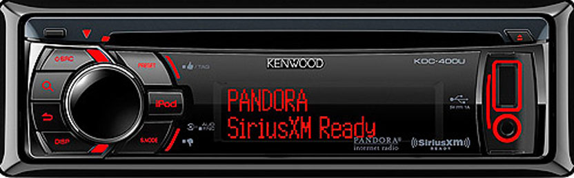 Kenwood KDC-400U CD Receiver with 3 Lines of Text and USB ... on kenwood kdc plug diagram, pioneer premier wiring diagram, head unit wiring diagram, cd player wiring diagram, car stereo wiring diagram, car amplifier wiring diagram, marine stereo wiring diagram, pioneer amp wiring diagram,