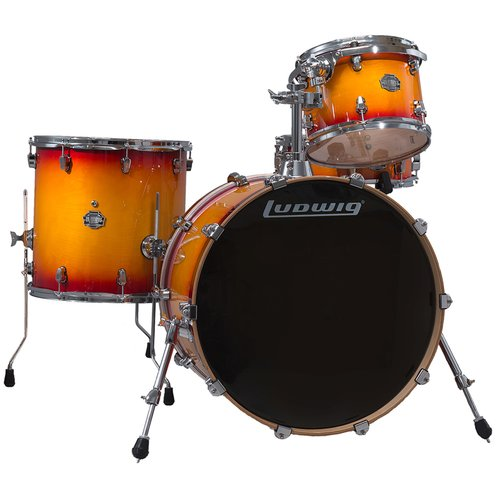 Ludwig Element Birch Icon 4-Piece Shell Pack Sunburst by Ludwig