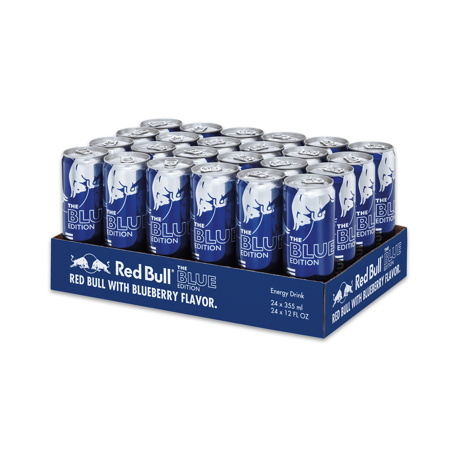 Red Bull 24-Pack 12oz Blue Edition Energy Drink