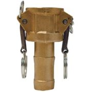 Dixon Valve 238-G100-C-BR 1 in. Brass Global Female Coupler