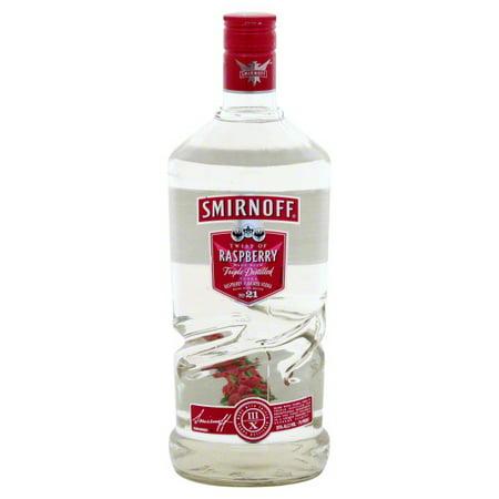 Smirnoff Twist Raspberry Vodka, 1L