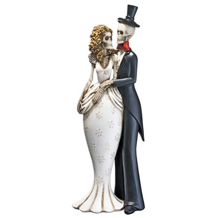 Design Toscano Day of the Dead Skeleton Bride and Groom -