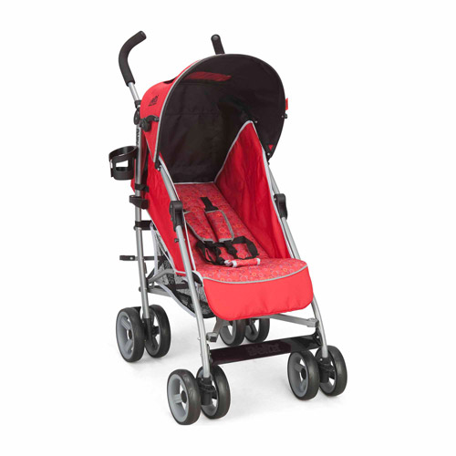Delta Children Urban Street LX Stroller, Red