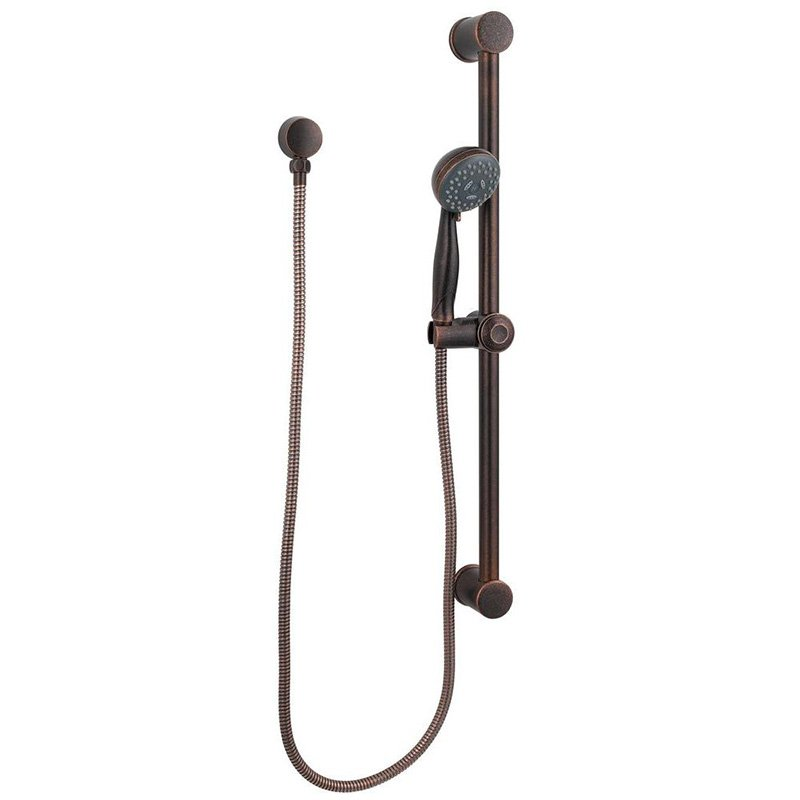 Pfister Treviso Multi Function Hand Shower with Hose, Supply Elbow and Slide Bar, Available in Various Colors