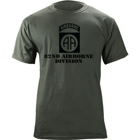 Army 82nd Airborne Division Subdued Veteran (82nd Airborne T-shirt)