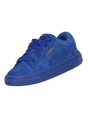Product Image Puma Toddler s Suede Classic Casual Shoes True Blue Gold b420235a7