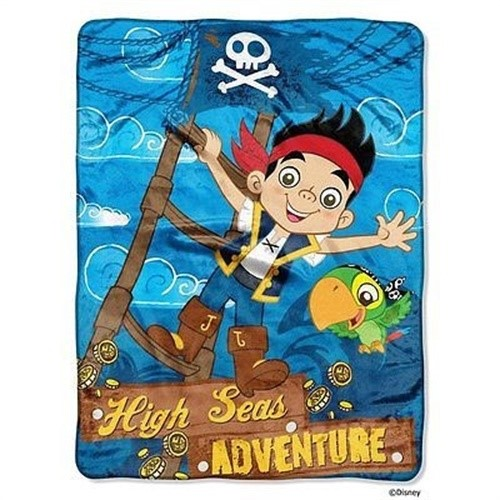 Disney Jake & The Neverland Pirates Micro Raschel Throw Blanket