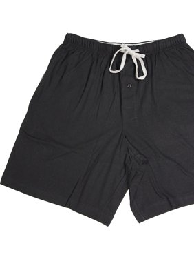 d7b0a88dd Product Image Hanes Mens Comfortsoft Cotton Knit Sleep Lounge Pajama Shorts,  40048 Black/Grey / Medium
