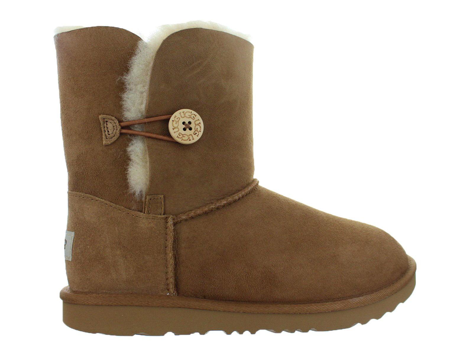 b34614e09f3 Kids UGG Bailey Button II Boot Chestnut Brown 1017400K-CHE