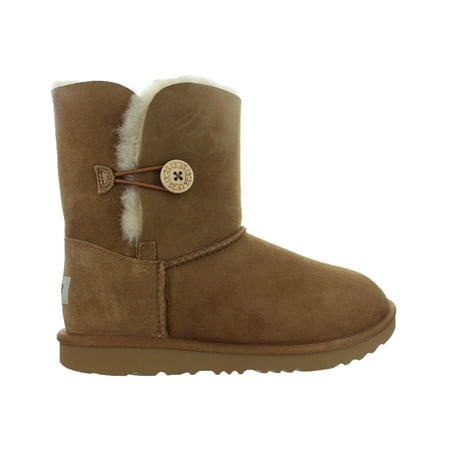 Kids UGG Bailey Button II Boot Chestnut Brown 1017400K-CHE (Big Kid Uggs On Sale)