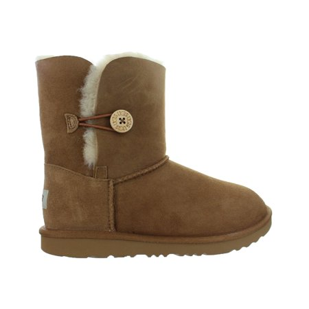 Chestnut Brown Boots - Kids UGG Bailey Button II Boot Chestnut Brown 1017400K-CHE