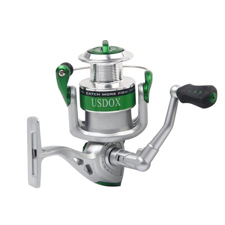 Ediors 10+1BB Stainless Steel Spinning Fishing Reel Lightweight Speed Foldable Fishing Reels