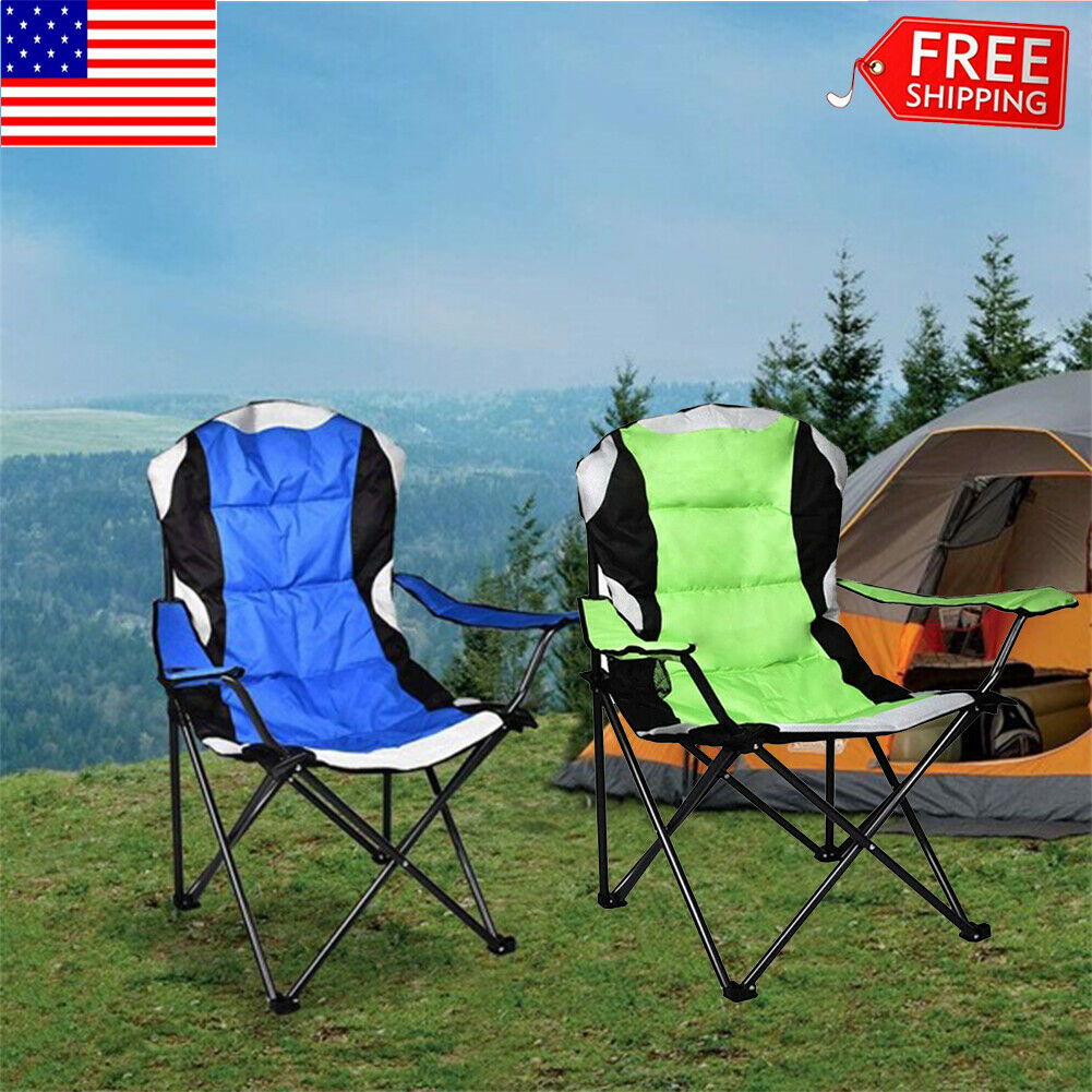 Details about  /Outdoor Camping Chair Oxford Cloth Portable Folding Lengthen Camping