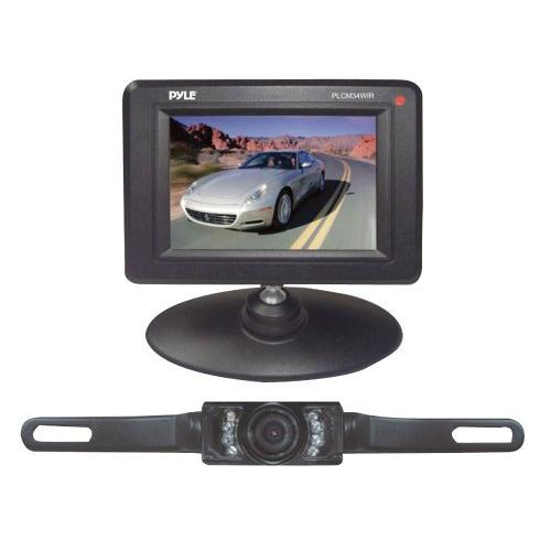 Pyle Plcm34wir 3.5in Monitor Wireless Backup/rearview/nightvision Cam Sys