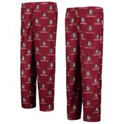 Florida State Seminoles (FSU) Youth Garnet Printed Flannel Pajama Pants