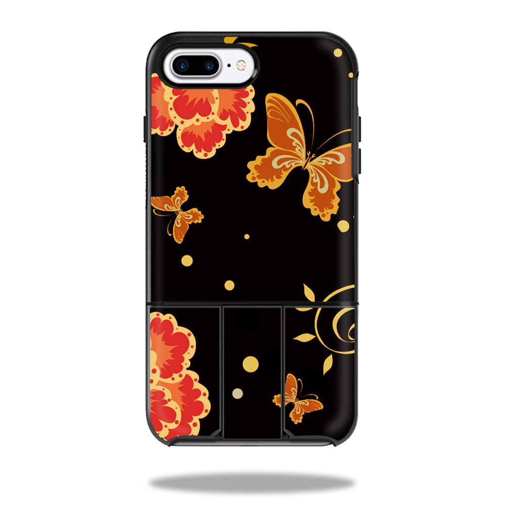 MightySkins Protective Vinyl Skin Decal for OtterBox Universe iPhone 7 Plus / 7S Plus Case wrap cover sticker skins Flower Dream