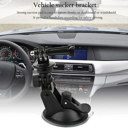 Car Suction Cup Mount Holder Bracket For Gopro Hero 1 2 3 4 Action Camera,black - image 8 of 11