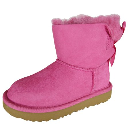 Children's UGG Mini Bailey Bow II Kids Boot (Pink Bows Uggs)