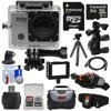 Vivitar DVR914HD 1440p HD Wi-Fi Waterproof Action Video Camera Camcorder with Remote, Vented Helmet & Bike Mounts + 32GB Card + Case + Tripod Kit