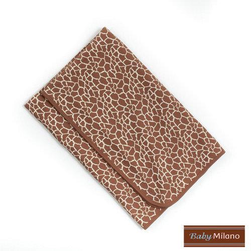 Baby Milano Baby Blanket in Giraffe Print