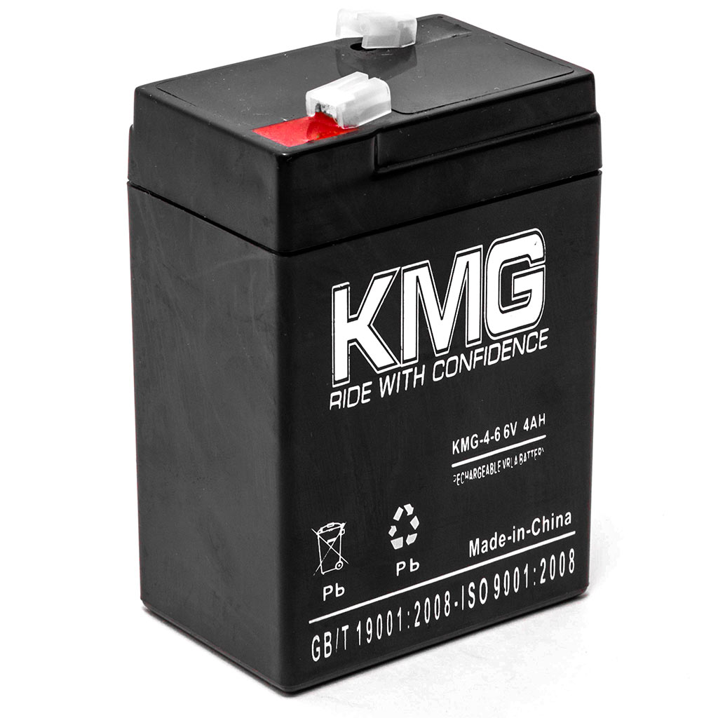 KMG 6V 4Ah Replacement Battery for Jolt Batteries JP640 SA645