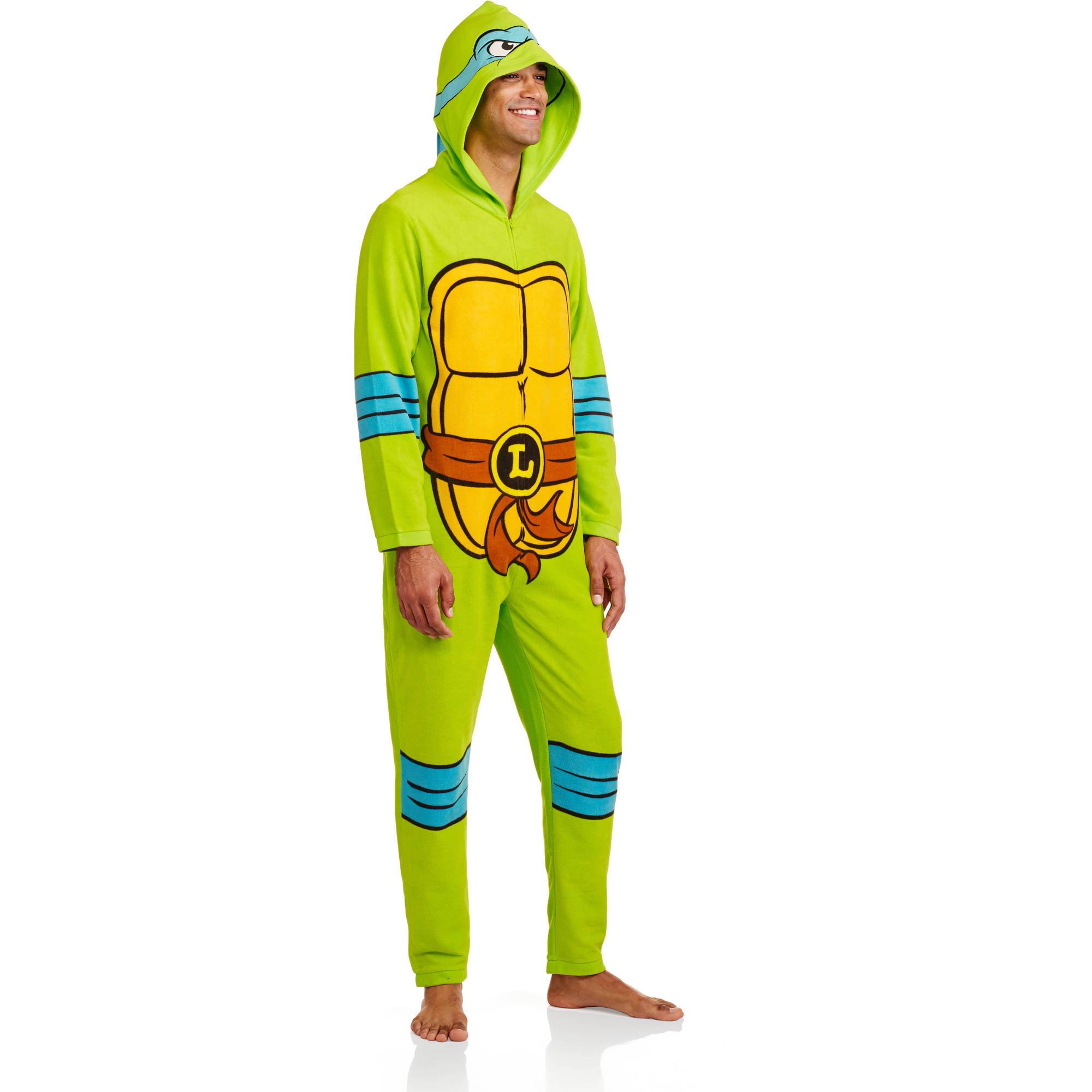 Teenage Mutant Ninja Turtles Men's Onesie Licensed Union Suit