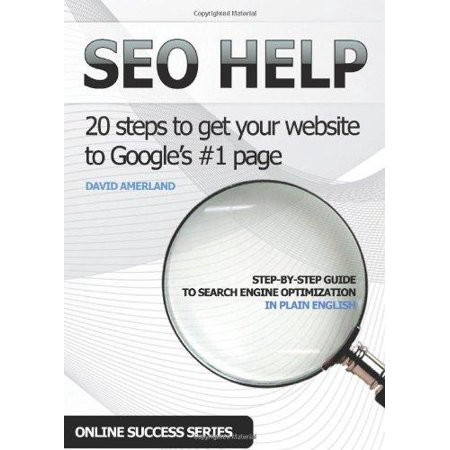 Seo Help  20 Search Engine Optimization Steps To Get Your Website To Googles  1 Page